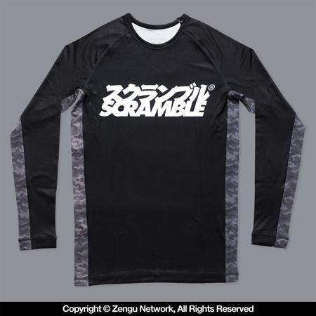 Scramble Kuro Camo Rash Guard